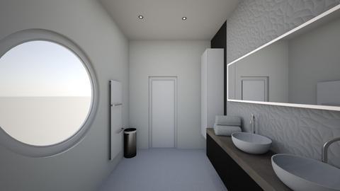 SDB fictive - Bathroom - by ManonGenard