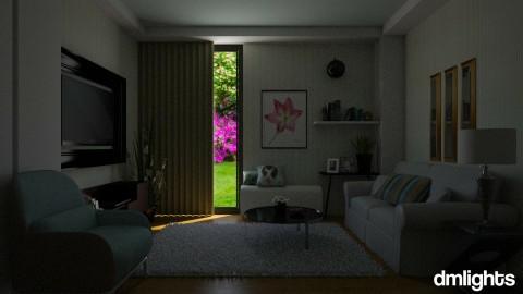 Entertainment Room  - Minimal - Living room - by DMLights-user-1334755