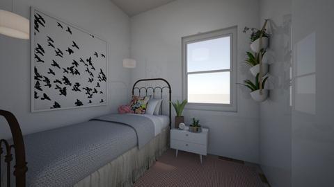 Teen Girl Bedroom - Bedroom - by Jane Rawle