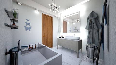 baie 10 ap 3 camere - Modern - Bathroom - by Vasile Bianca Rozalia