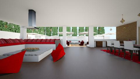 villa lounge - by pamela Cowan