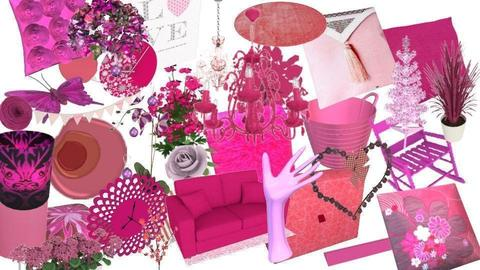 Random Pink Jumble - by JoycePotato
