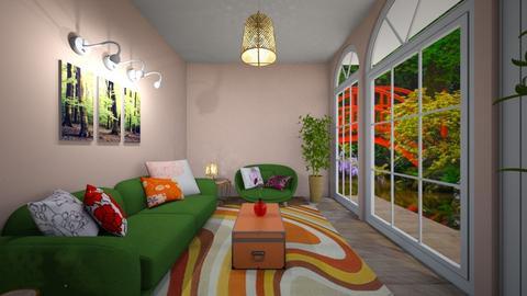 Garden room - Living room - by zizzy