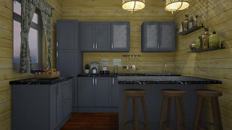 Farmhouse 2 - Kitchen - by nonanymous_