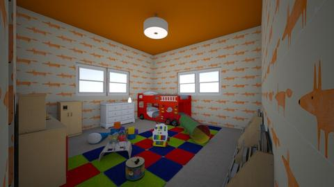 children room - Kids room - by willows