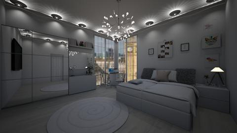 college - Bedroom - by joja12345678910