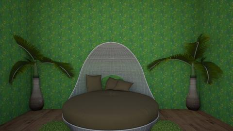 Jungle Room - Living room - by BakerSweet