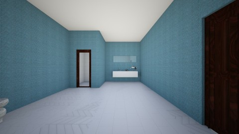 Basement Apartment Part 3 - Modern - Bathroom - by ilovepie
