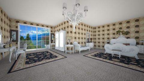 aristocrat bedroom - Classic - Bedroom - by fatycuisine