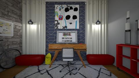 Time for Work - Modern - Office - by Shealyn Richardson