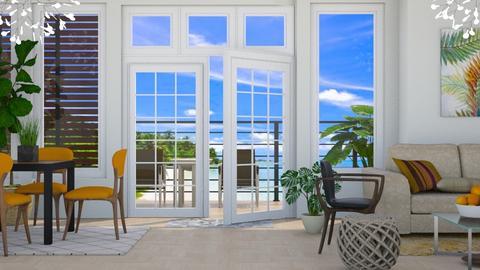 Tangerine - Modern - Living room - by millerfam
