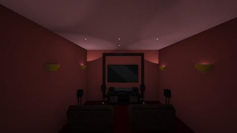 Luxurious Home Cinema - Modern - by Katie Khambata