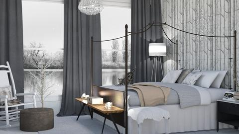 Winter Bedroom - Bedroom - by kyrabaldwin