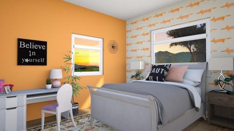 new college room part 1 - Bedroom - by sonakshirawat175