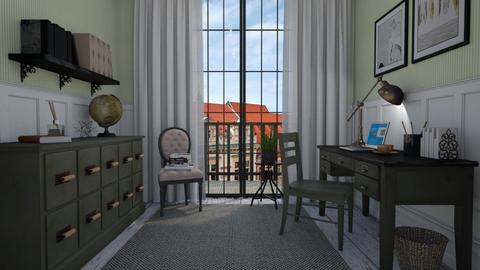 JG study - Office - by Tuija