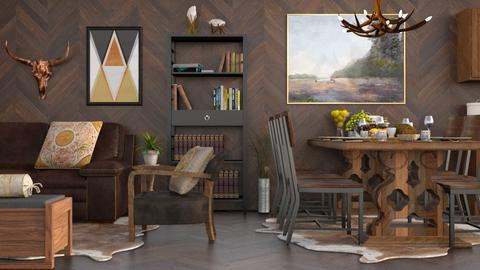 Timber Walnut - Country - Dining room - by millerfam