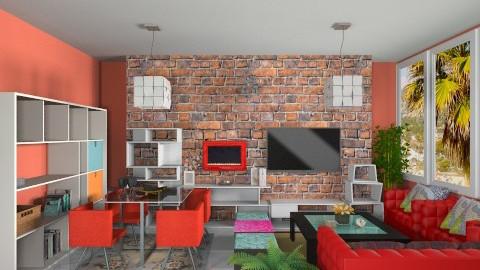 Cubo Living - Retro - Living room - by Leticia Camargo_175