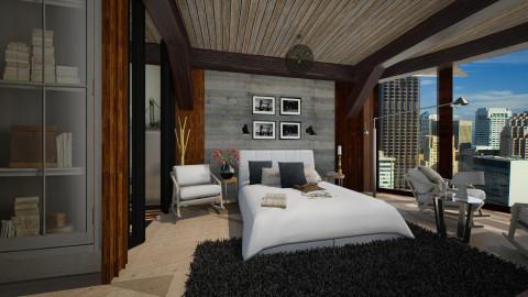 comfy mountian cabin - by Seram