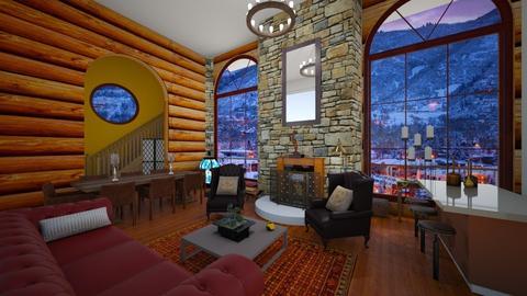 Aspen Lodge - Living room - by ppolicar