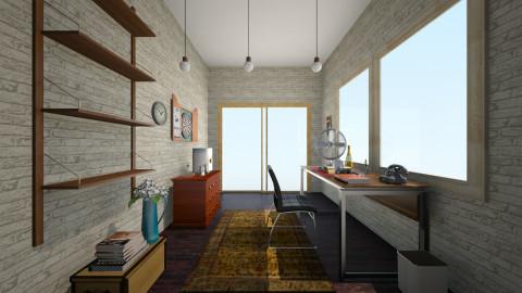 Work room - Masculine - Office - by LAS95
