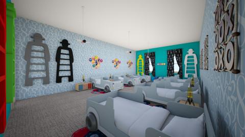 homebaby - Masculine - Kids room - by Josef Bob