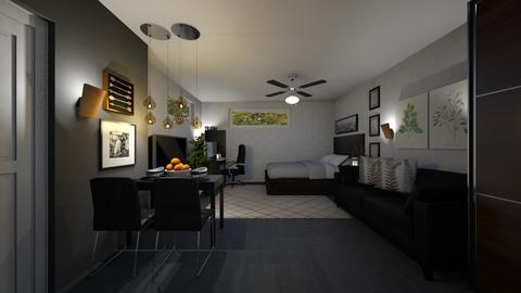 Bed and Hangout Room4 - Minimal - Bedroom - by ayudewi382