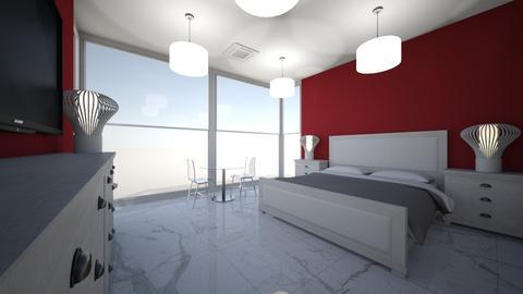 suite master   - Feminine - Bedroom - by kelly lucena