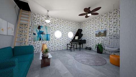 Modern Living Room  - Living room - by SavaryArch