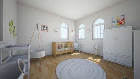 Barnerom - Kids room - by fridapluto