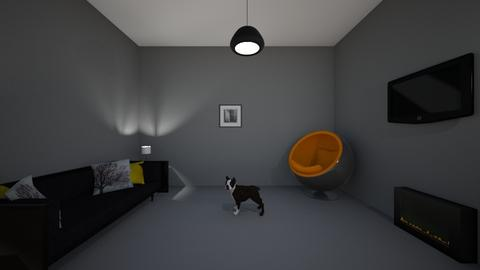 Goth Home - Modern - Living room - by paiz2000