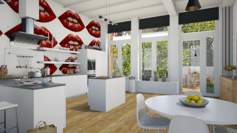 lips - Kitchen - by beccamc