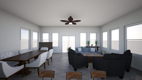 Sun Rm 24 Wide V1 - Living room - by glwharris