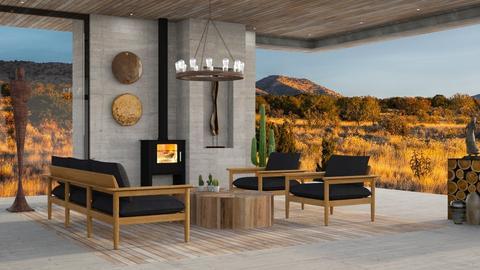 Albuquerque - Living room - by JennieT8623