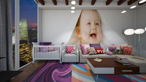 apartment nersury - Kids room - by A N G E L