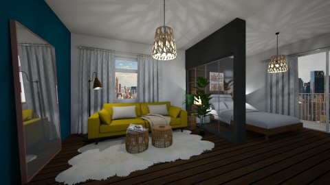 280 Living and Bedroom - by Agata_ody