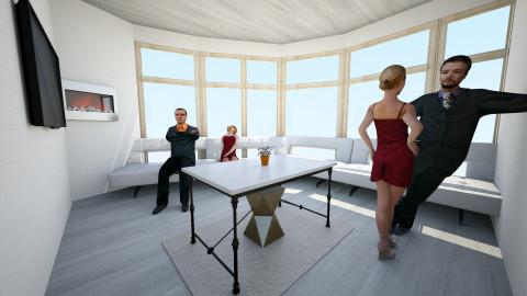 Modern Living Room - Modern - Living room - by johnnymusicman