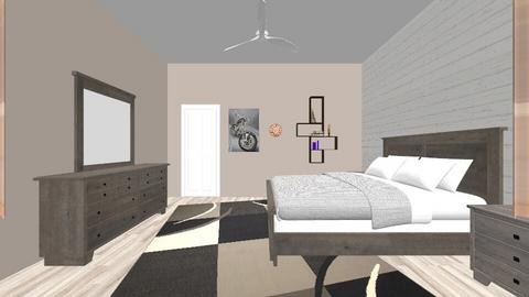 Master Bedroom - Rustic - Bedroom - by huffakerje