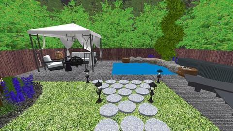 my backyard  - Garden - by Ashleyleistad