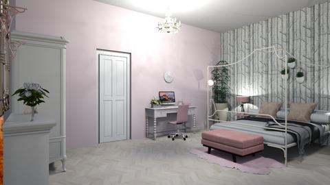 dusty pink - Bedroom - by cclethbridge