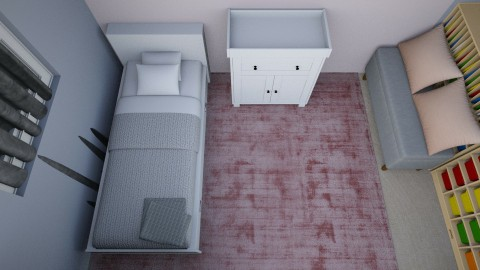 Minimal Small Spaced Bedr - Minimal - Bedroom - by PhoebeT_038