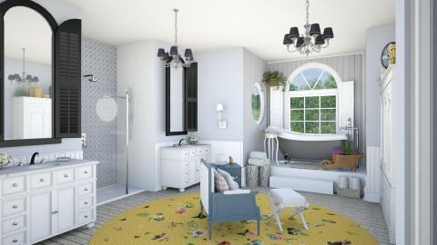 Country Bath - Country - Bathroom - by LNBR