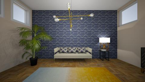 blu - Living room - by Angela Quintieri