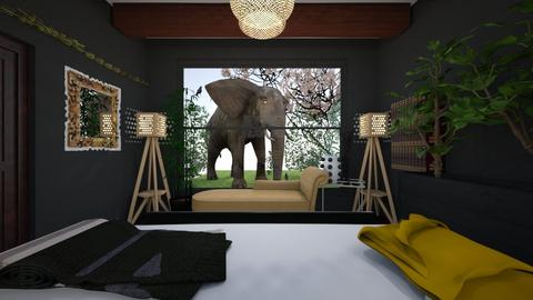Urban Jungle Bedroom - Eclectic - Bedroom - by toriag27