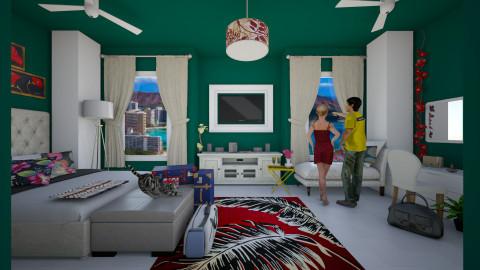 summer getaway - Bedroom - by Nor Hasniza Md Jani