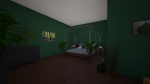 Forest Lounge - Bedroom - by Blue Sprinter