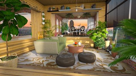 Plants in Living Room - Living room - by Vanessa_D