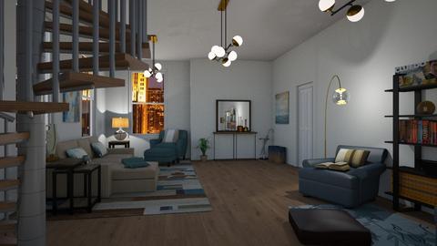 MY ARTISAN FLOORING - Living room - by antonieta123