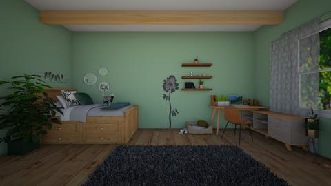 Garden Bedroom  - Minimal - Bedroom - by Natalie222
