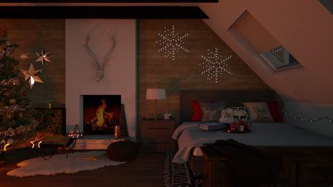 Christmas Eve - Bedroom - by GinnyGranger394