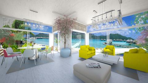 LAvilla - Modern - Living room - by Saj Trinaest